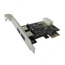 Контролер PCIe to USB Dynamode (USB30-PCIE-2)